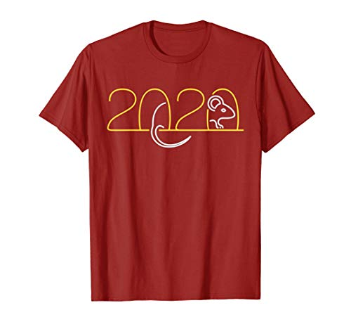 Year Of The Rat 2020 Happy Chinese New Year Gift T-Shirt