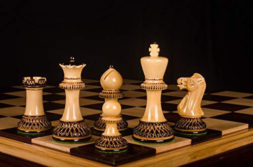 Parker Burnt Chess Set 3.75'