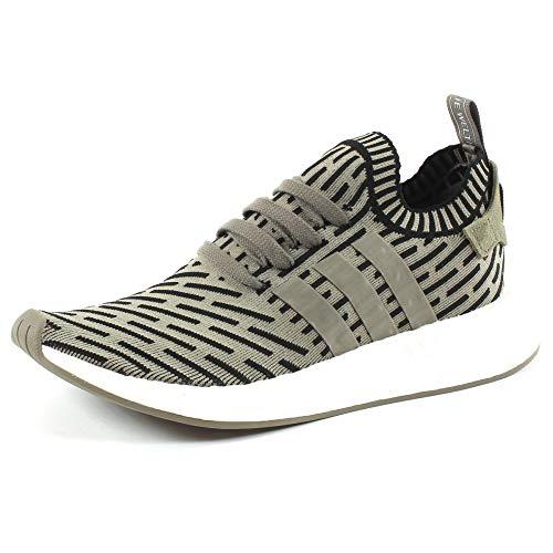 adidas Originals NMD_R2 Primeknit Verde Size: 46 2/3 EU