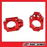 Tendi Catena Ergal SCAR Compatibile con HONDA CR 125 CRF 250 450 CRFX - Rosso