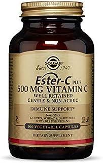Solgar - Ester-C Plus Vitamin C (Ester-C Ascorbate Complex) 500 mg, 100 Vegetable Capsules