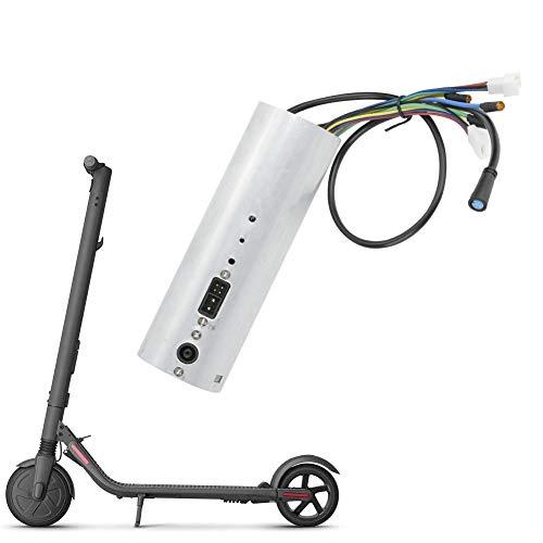 Vobor Tablero De Control De Scooter - Tablero De Control Ninebot, Ensamblaje De Controlador con USB para Piezas De Scooter Eléctrico Plegable Xiaomi Ninebot ES2