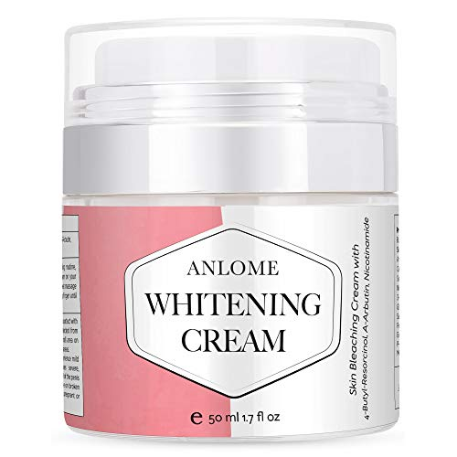 Anlome Whitening Cream, Dark Spot Corrector and Skin Bleaching Cream for Face, Intimate Parts, and...