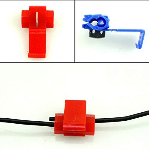 KinshopS Terminales rápidos de la unión de los conectores del cable de...