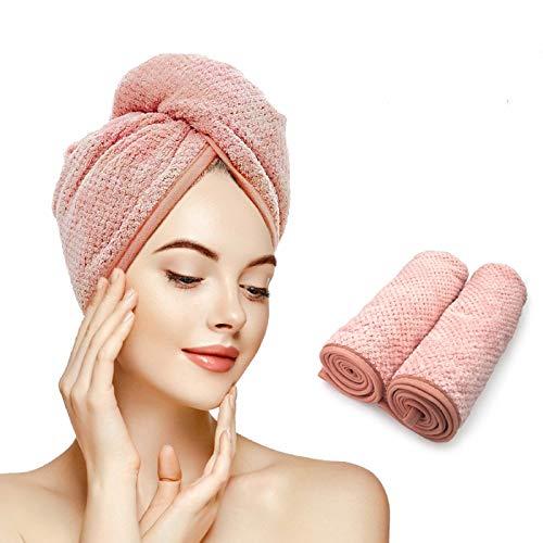Gepege 2 Pack Hair Towel Wrap, Hair…
