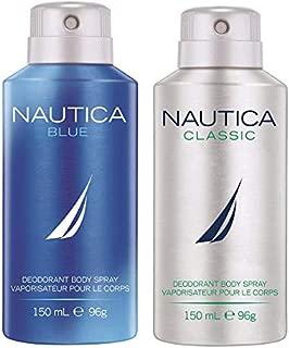 Nautica Deo Combo Set, Blue, Classic, 150ml (Pack of 2)