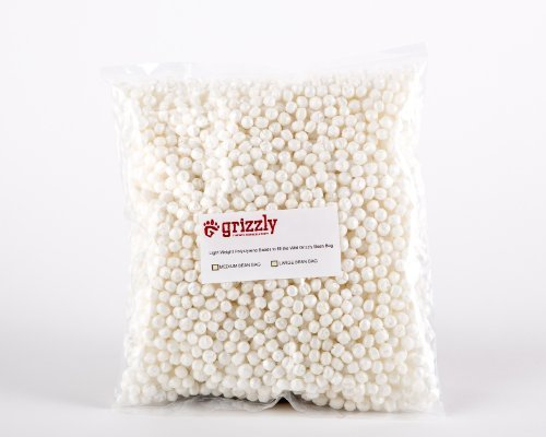 Grizzly Polystyrene, Poly Styrene Beads, Balls to Fill The Grizzly Medium Camera Bean Bag, Photography & Video Bean Bag, Tripod Bag, Camera Support & Sandbag, Camera Beanbag, Spotting Scope Support