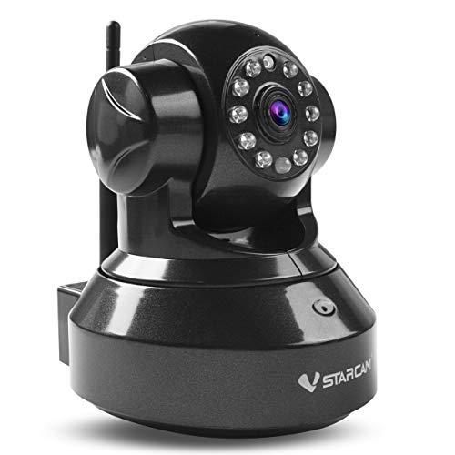Proam C7837WIP HD 720P Überwachungskamera P2P Wireless indoor IP Kamera, 3DB wifi Antenne, WiFi Wlan Netzwerk Überwachung, Pan/Tilt, Schwenkbare IR Monitor