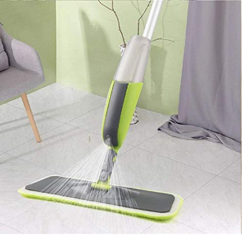 ALPHA BETA® Floor Mop with Removable Washable Cleaning Pad and Integrated Water Spray