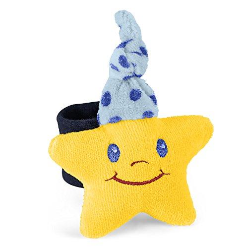 Sterntaler 6701673 Armrassel Stern, Alter: 0-36 Monate, Größe: 9 cm, Farbe: Gelb