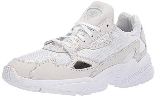 adidas Originals Falcon Shoes, Zapatillas Mujer, Blanco y Cristal Blanco, 44 EU
