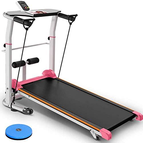 SJNQJJ Cinta de correr plegable, 2020 Nueva Generación de Profesionales cinta de correr plegable y compacto de la máquina escamoteable ejercicio en cinta rodante Máquinas Walking máquina corriente con