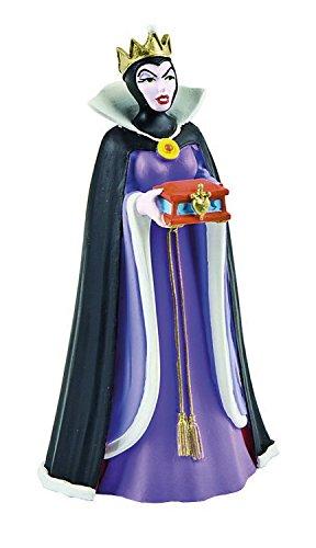 Bullyland 12555 - Spielfigur, Walt Disney Schneewittchen, Böse Stiefmutter, ca. 9 cm groß, liebevoll handbemalte Figur, PVC-frei, tolles Geschenk für Jungen und Mädchen zum fantasievollen Spielen