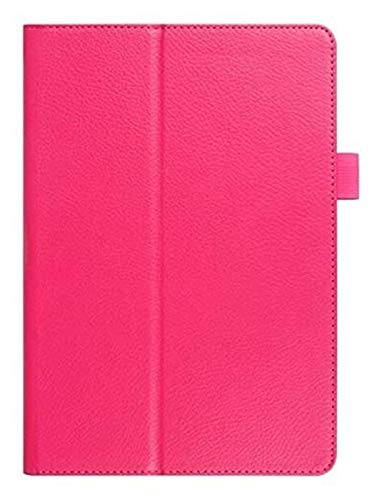 YNLRY Tab Accessories for Samsung Galaxy Tab a 8.0 T290 T295 T297 SM-T290, Leather Smart Protector Cover+pen Flip Stand Tablet Cover for Galaxy Tab a 8' (Color : Rose red)