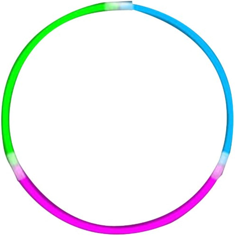 WeGlow International Tricolor WeGlow Glow Necklaces  bluee Green Pink (50 pieces)