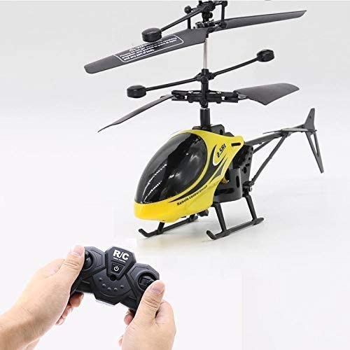 WBDZ Luz de Control Remoto bidireccional Modelo de helicóptero Volador Anti-caída inalámbrico Juguete de Control Remoto Juguete de helicóptero eléctrico de Control Remoto luz LED