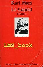 Le Capital, livre 1 de Karl Marx
