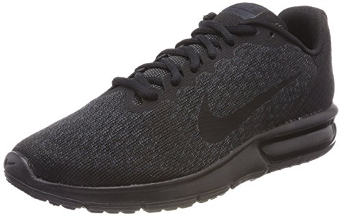 Nike Air Max Sequent 2, Scarpe da Fitness Uomo, Nero Black 015, 44 EU