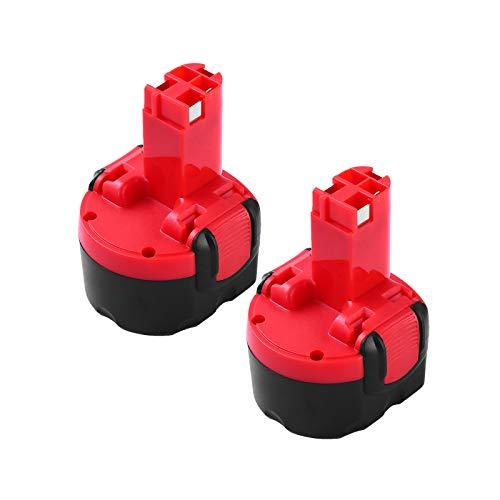 2 Paquetes Reemplazo Para Bosch 9.6V 3.5Ah Baterías BAT048 BAT100 BAT119 2607335272 2607335461 GSR 9.6VE-2 PSR 9.6VE-2 PSR960 23609 32609-RT