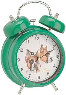 boxer dog alarm clock
