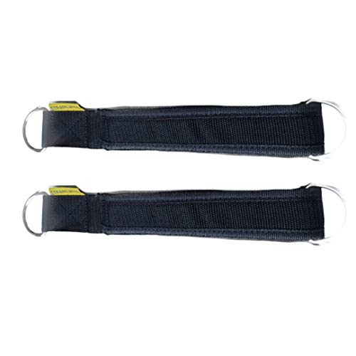 Strapilates Black Reformer Straps. The Fashionable and hygienic Solution for Your Pilates Needs