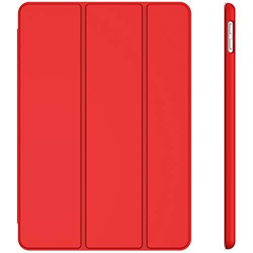 JETech Funda Compatible con Apple iPad 7 (10,2 Pulgadas, 2019 Modelo, 7ª Generación), Carcasa con Auto-Sueño/Estela (Rojo)