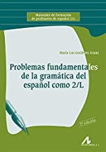 Problemas fundamentales de la gramática del español como 2/L (Manuales de formación profesores español 2/L)