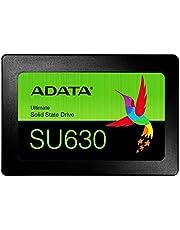 ADATA Ultimate SU630-480 GB, interne Solid-State-Drive met QLC-3D NAND-Flash, 2,5 inch, zwart, 480 GB