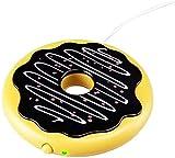 Almohadilla eléctrica portátil para calentar tazas Buñuelo lindo USB de la forma calefacción de la taza Copa Copa Aislamiento Térmico Taza pad calentador Mat Taza pad calentador Mat Copa cojín de la e