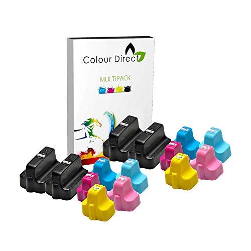 14 Colour Direct HP 363 XL Kompatibel Druckerpatronen Ersatz für HP Photosmart 3108 3110 3210 3310 3310xi 8200 8230 8238 8250 8250v 8250xi 8253 C5140 C5150 C5170 C5175 C5180 C5183 C5188 C5190 C6150 C6170 C6175 C6180 C6183 C6185 C6188 C6190 C6200 C6240 C6250 C6270 C6280 C6283 C6288 C7180 C7183 C7185 C7200 C7250 C7275 C7280 C7283 C7288 C8180 C8183 D6160 D6163 D6168 D7155 D7160 D7163 D7168 D7260 D7263 D7345 D7355 D7360 D7368 D7460 D7463 P3210