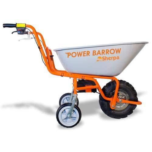 Sherpa Power Barrow - Battery Powered Tipping Wheelbarrow