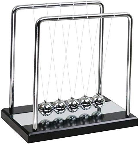 DLY Péndulo de Newton, Cuna de Newton, Balanciero de Newton Clásico Decoración Oficina Hogar