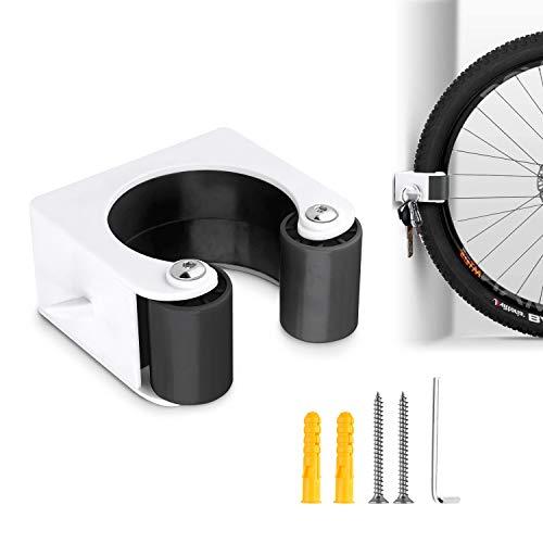 Hebilla de Estacionamiento para Bicicletas, Gancho Bicicleta Pared, Soporte Bici para Bicicleta de Montaña, Carretera (Montaña Negra)
