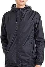 DINOGREY Mens Waterproof Windbreaker Rain Jacket Lightweight Hooded Raincoat Water Resistant Shell