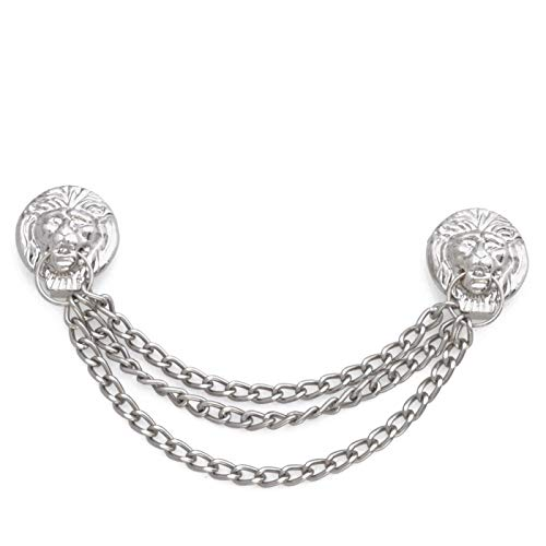 DAKL Hammerkette, Löwenkopfkette Farbe silber
