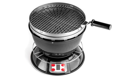 Cook-Air EP-3620BK Wood Fired Portable Grill, Black