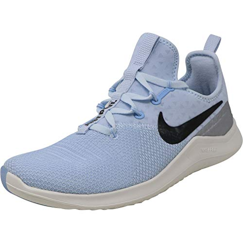 Nike Women's Free TR 8 Training Shoes (10, Blue/Black/Silver)
