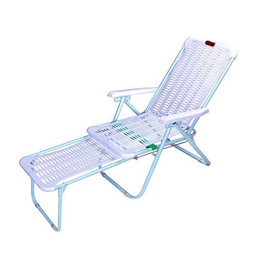 Juego de sillas plegables YQYM, de plástico, sillas apilables resistentes a la intemperie, con un máx. Capacidad de carga: 150 kg, adecuado para exterior, picnic, pesca, fiestas. a