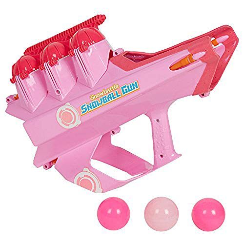 COLOR TREE Snowball Blaster Snow Ball Shooter Gun Snowball Maker Shooter Fights Winter Game for Kids and Adults