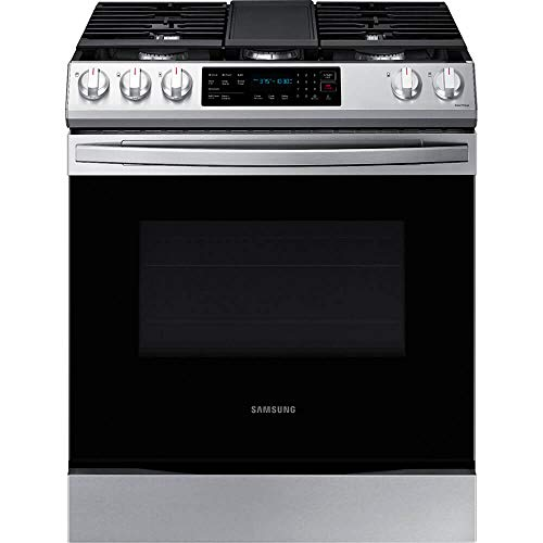 SAMSUNG NX60T8311SS / NX60T8311SS / NX60T8311SS 6.0 cu. ft. Gas Range with Fan Convection