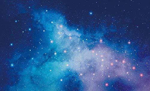 RQWBH Carta Da Parati 3D Autoadesiva Universo Galaxy Stellato Carta Da Parati Per Bambini Camera Da Letto Bar Asilo Casa Soggiorno Tv Parete Sfondo Murale Arte Carta Da Parati 2515(W)400x(H)280 cm