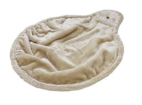 Trixie 43981 Liegemulde XL für Kratzbaum, ø 45 cm, beige