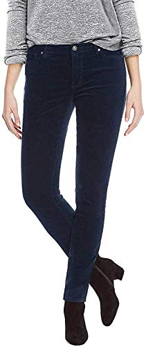 Buffalo Ladies Velvet Pant with Stretch (Navy, 8/29)