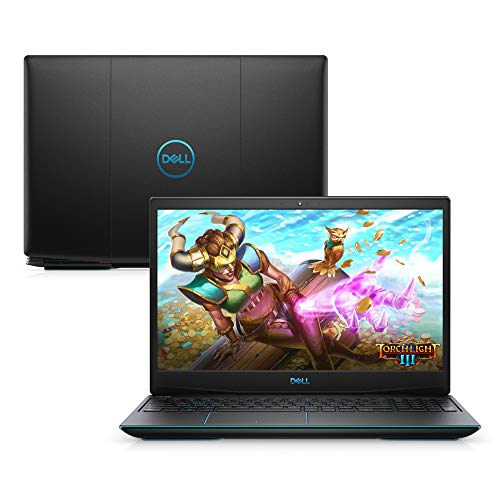 "Notebook Gamer Dell G3-3590-A50P, 9ª Geração Intel Core i5-9300h, 8GB RAM, 512GB SSD, NVI GTX 1650, Tela FHD 15.6"", Windows 10"