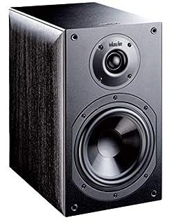 diffusori acustici 2 vie Bass-Reflex amplificazione suggerita 30 - 100 watt dimensioni (LxAxP) 205 x 325 x 290 mm.