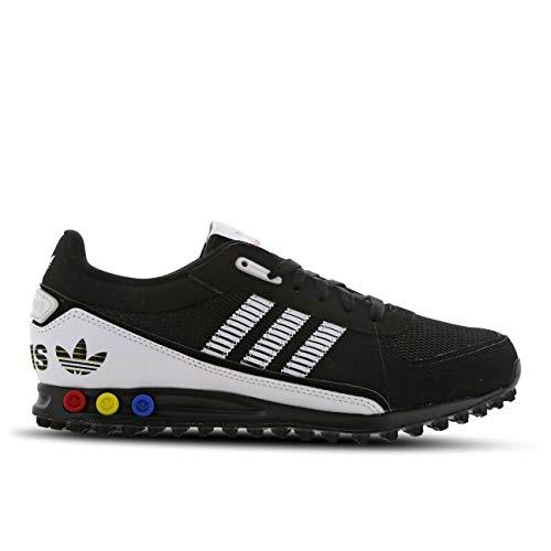 adidas LA Trainer II - Zapatillas de deporte para hombre, color negro y blanco, color Negro, talla 43 1/3 EU