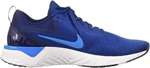 Nike Herren Odyssey React Laufschuhe, Mehrfarbig (Gym Hero/Blue Void 404), 42 EU