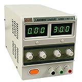 Labornetzgerät, regelbar, Digitalanzeige, 0-30V, 3A, 90W