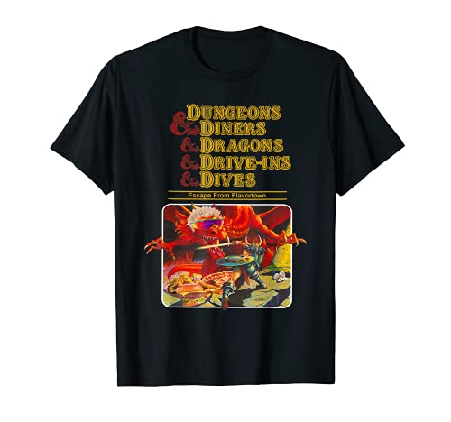 Dungeons & Diners & Dragons & Drive-Ins & Dives T-Shirt
