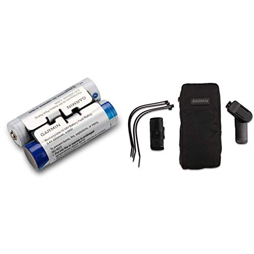 Acc,NiMH Bat Pk,Oregon 6XX & Garmin Outdoor-Halterungspaket mit Tasche kompatibel mit vielen Garmin Outdoor GPS Geräten